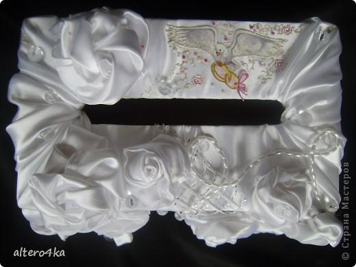 Cердечный топиарий, был сделан для украшения на свадьбу.) фото 4