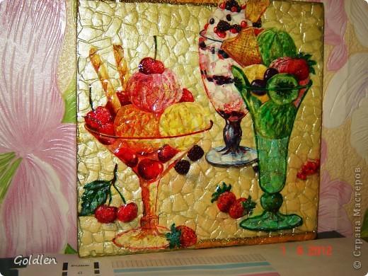 Вкусняшка на яичном кракле, салфетка, 3-Д гель, глиттер золотой, перламутровые акриловые краски фото 1