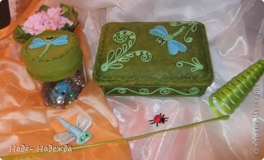 Добрый день или ночь, дорогие мастерицы!!!!Хочу сегодня показать вам первую попытку освоить Пейп-Арт в цвете , училась у Тани Сорокиной,   http://stranamasterov.ru/node/308701 .Итак...это коробочки для мелочей.... фото 2