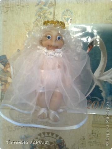 Эта кукла сделана в память о дочери для очень хорошей мамы. фото 13