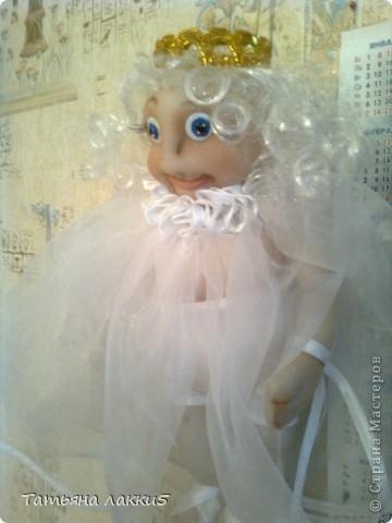Эта кукла сделана в память о дочери для очень хорошей мамы. фото 15