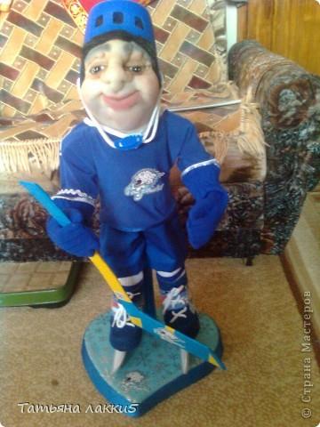 Хоккеист команды Барсы Астана фото 1