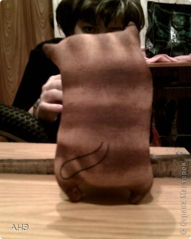 Пошились еще в прошлом, 2011 году (год кота или кролики) вот такие сувениры на работу. Первая моя проба шить кофейные игрушки. фото 7