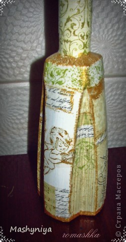 декупаж на бутылках 2 фото 1