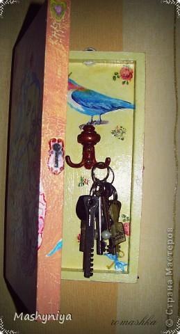 Ключница из шахматной доски) фото 3