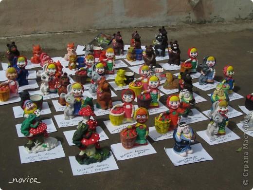 Сегодня в Нескучном саду прошло завершение Игр победителей 2012 . Как и в прошлом году,  мы с детьми пробовали создавать забавные поделки из гофрокартона фото 8