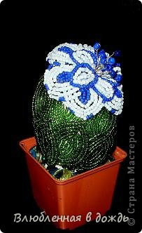 Орхидея сделана по МК mari-m26, спасибо большое за чудесную идею и прекрасный Мастер-класс. фото 3