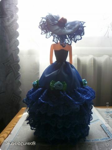 А вот такая же но синяя рост у них около 40 см.  фото 4