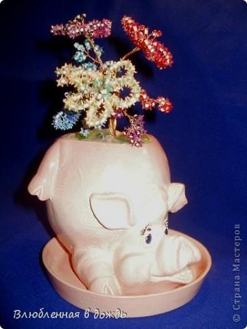 Орхидея сделана по МК mari-m26, спасибо большое за чудесную идею и прекрасный Мастер-класс. фото 6