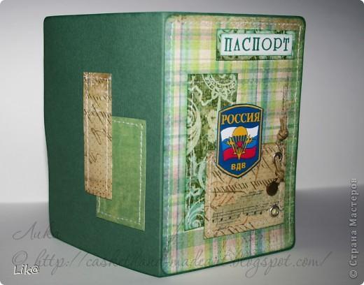 Ещё не показывала две обложки на паспорт для ВДВшников)) фото 4