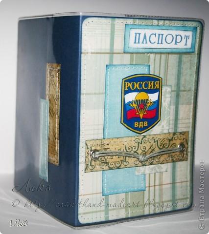 Ещё не показывала две обложки на паспорт для ВДВшников)) фото 2