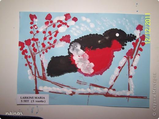 Работаю в очень интересном месте - в детском центре развития SuperKids в городе Espoo в Финляндии :) Помимо своей основной логопедической работы, веду уроки рисования :) Подводный мир глазами детей. Использовали полиэтиленовые пакеты для создания фона. Рисунок мой дочки, ей 5 лет. фото 3