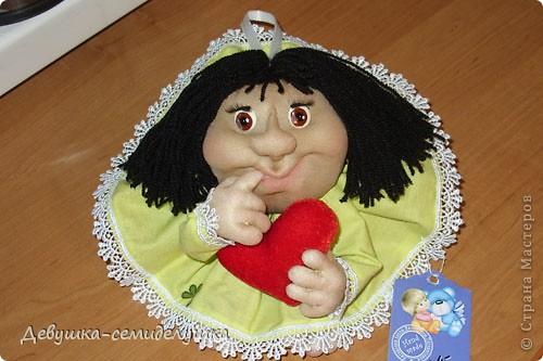 Куколка Ириша - заказ на День рождения коллеги.  фото 1