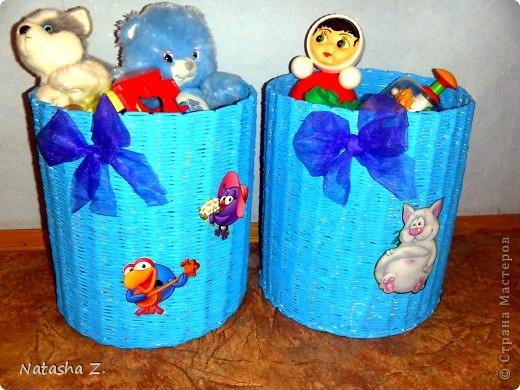 Коробушки под игрушки фото 6