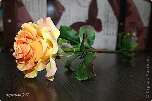 Розы в полный рост)) 70 см (лепка глина) фото 4