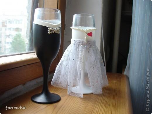 Свадебные фужеры. Эксперимент № 1.