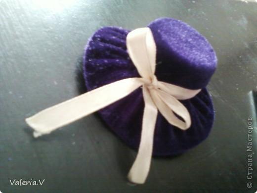 Идею по созданию таких шляпок я позаимствовала у пользователя http://stranamasterov.ru/user/74136 (Настя12) Мне очень понравилась ее работа что я решила попробовать сделать такие же хорошенькие шляпки! фото 11