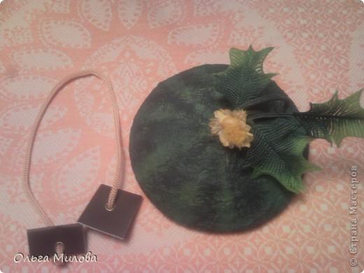 Вот такой арбуз получился для конкурса  http://stranamasterov.ru/node/372745?k=all&u=81727 фото 11