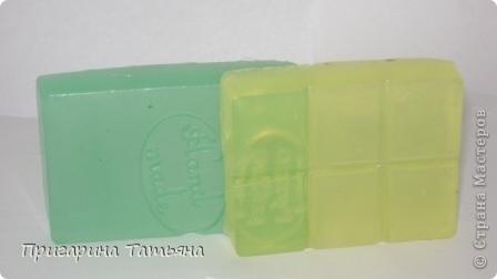 Вариации на тему мыла с глицерином. Мыло уже использовано, очень всем понравилось фото 2
