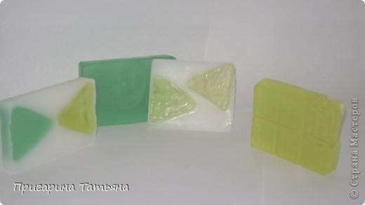 Вариации на тему мыла с глицерином. Мыло уже использовано, очень всем понравилось фото 1