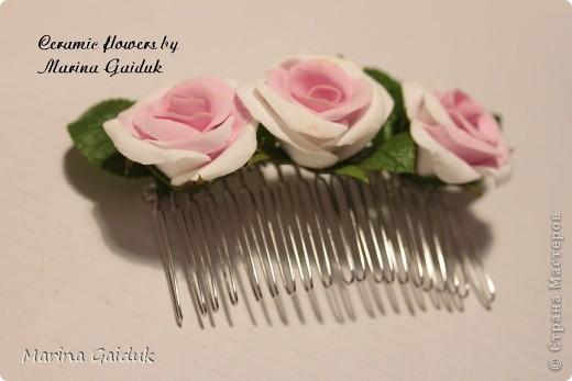 Цветок и бутоны Харти, листики и чашелистики из Модерн Клей фото 5