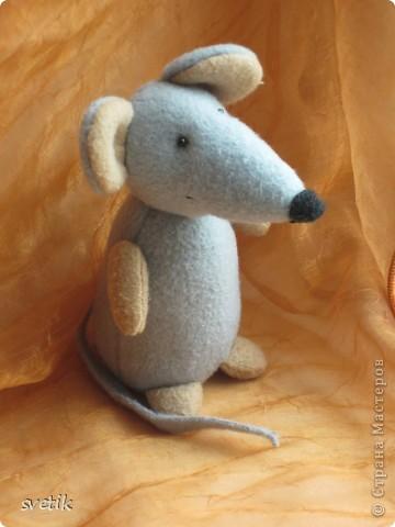Вот такую красавицу-мышку сшили мы с Ангелинкой. Похожа на оригинал? фото 2