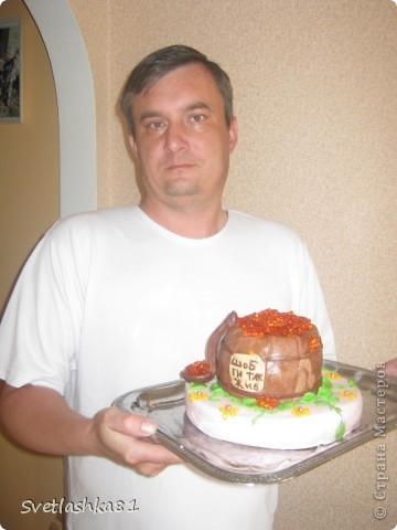 Вот, угощайтесь. Давно хотелось такой тортик. И повод подходящий День рождения мужа. фото 5