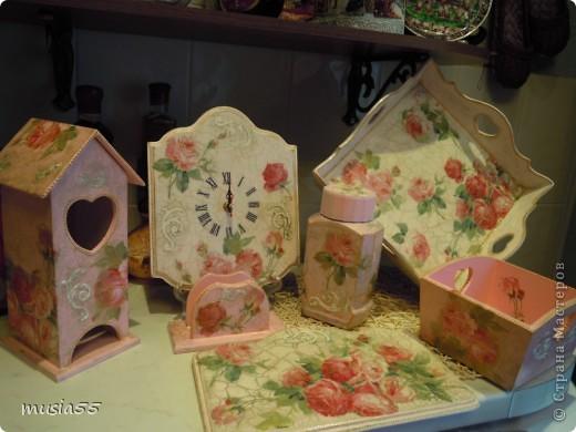 Сделала чайный домик,сухарницу,салфетницу, баночку кофе в дополнение к наборчику шебби-шик фото 5