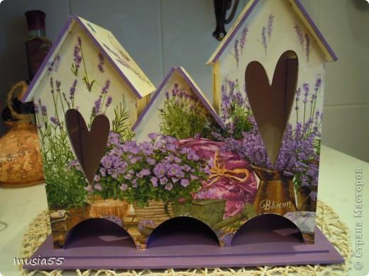 Вот они все чайные домики мои и.... Лавандовое утро......Маков цвет.... Лето...лето фото 2