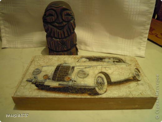 Купюрница-Ретро-авто...подарок фото 1