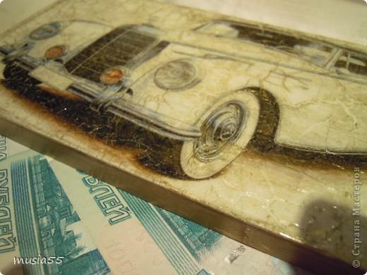 Купюрница-Ретро-авто...подарок фото 2