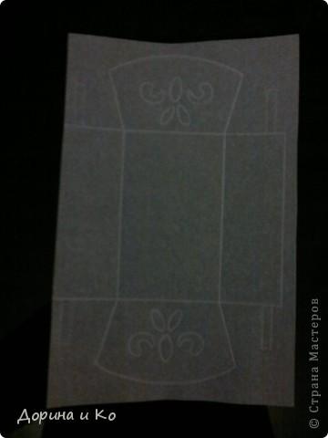 Может мастер-класс это сильно сказано. Но хочу показать, как я сделала эту колыбельку, и рассказать о своих ошибках. А еще на этой работе я попробовала технику пергамано, мне очень понравилось. Я долго пробовала делать дырочки и вырезки и вот решилась сделать работу. Делала ее на конкурс Календаря. фото 3