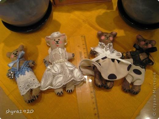 Вот мои мишки-малютки. фото 2
