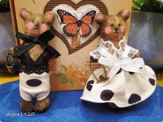 Вот мои мишки-малютки. фото 5