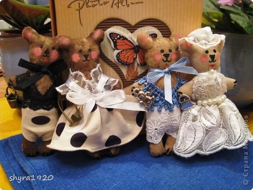 Вот мои мишки-малютки. фото 7