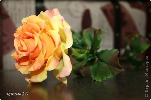 Розы в полный рост)) 70 см (лепка глина) фото 6
