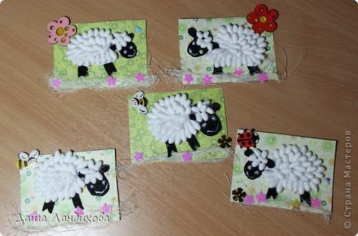 Аппликация овцы своими руками