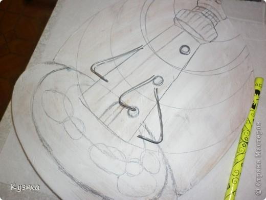 Предлагаю мастер-класс по изготовлению ключницы(делала на конкурс) фото 5