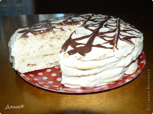 Торт на сковородке фото 2