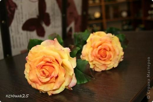 Розы в полный рост)) 70 см (лепка глина) фото 2