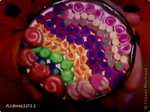 Сладкая тарелка для кукол фото 1