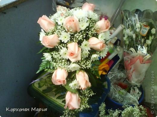букеты из живых цветов фото 2