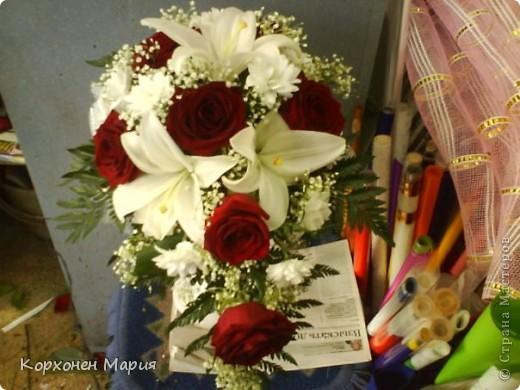 букеты из живых цветов фото 3