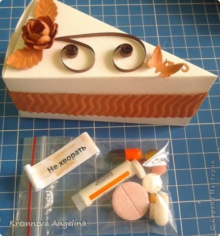 Тортик делали вместе с мамой на день рождения :) Идея http://stranamasterov.ru/node/363091?c=new фото 14