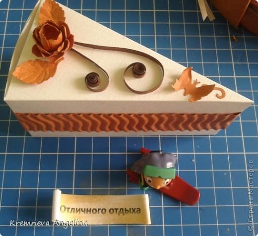 Тортик делали вместе с мамой на день рождения :) Идея http://stranamasterov.ru/node/363091?c=new фото 15