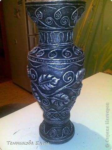Добрый вечер! Выставляю свою любимую вазочку. Очень благодарна Татьяне Сорокиной за такую необыкновенную технику.  В своей вазе использовала идею Натальи Polihrony. Большое спасибо. фото 5