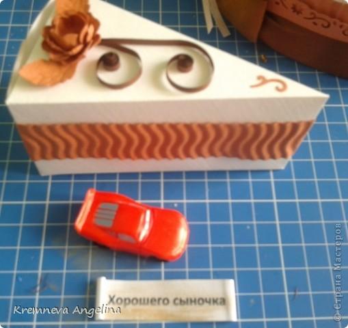 Тортик делали вместе с мамой на день рождения :) Идея http://stranamasterov.ru/node/363091?c=new фото 16