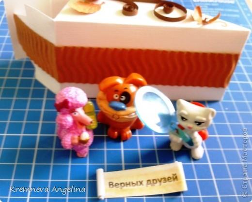 Тортик делали вместе с мамой на день рождения :) Идея http://stranamasterov.ru/node/363091?c=new фото 17
