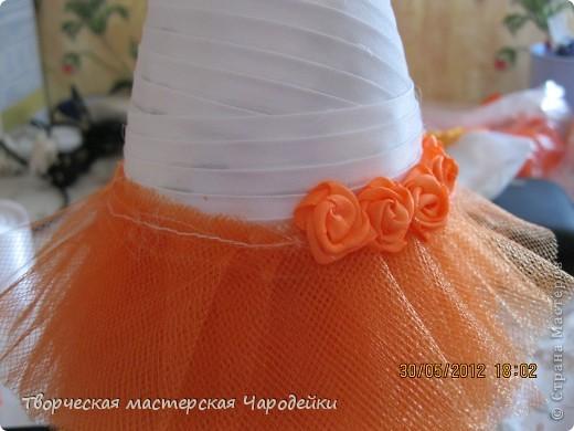 Доброго времени суток, дорогие мастерицы!!! Вот и мой обещанный МК по свадебным бутылочкам... фото 14
