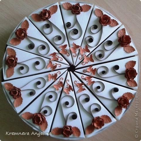 Тортик делали вместе с мамой на день рождения :) Идея http://stranamasterov.ru/node/363091?c=new фото 1